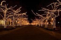 Подключение освещения зданий в Сургуте