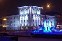 освещение фасадов в Сургуте