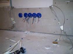 Электромонтажные работы в квартирах новостройках в Сургуте. Электромонтаж компанией Русский электрик